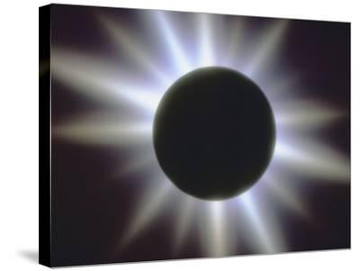 A Solar Eclipse--Stretched Canvas Print