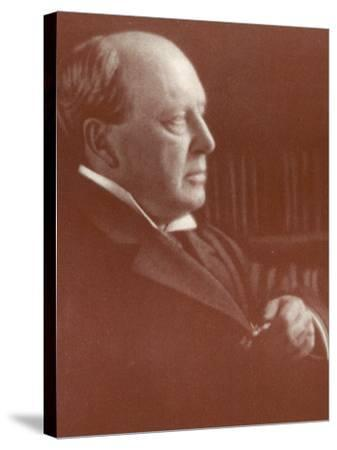 Henry James American Writer-Alvin Langdon-Stretched Canvas Print