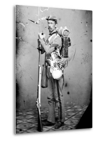 Sgt. Joseph Dore, 7th N.Y.S.M., c.1865--Metal Print