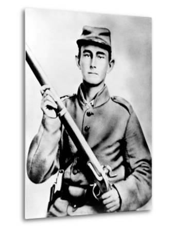 Enoch Hooper Cook, Jr., Pvt, Co. H. 38th Alabama Infantry, C.S.A.--Metal Print