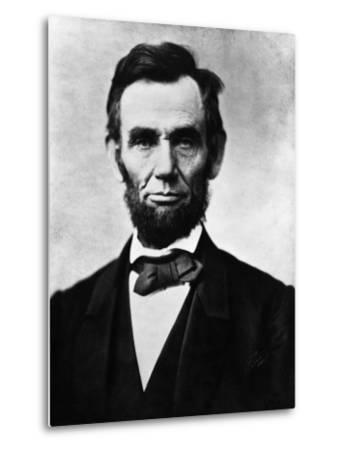Abraham Lincoln, 1863-Alexander Gardner-Metal Print