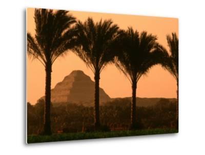 Step Pyramid, Djoser, Old Kingdom, Sakkarra, Egypt-Kenneth Garrett-Metal Print