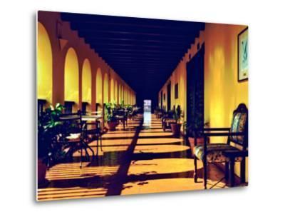 El Convento Hotel, Patio del Nispero, Courtyard, San Juan, Puerto Rico-Greg Johnston-Metal Print