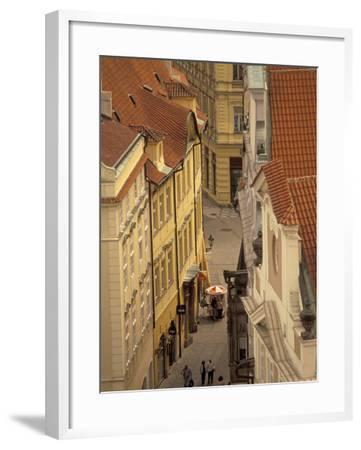 Buildings of Old Town, Prague, Czech Republic-Walter Bibikow-Framed Photographic Print