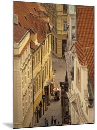 Buildings of Old Town, Prague, Czech Republic-Walter Bibikow-Mounted Photographic Print