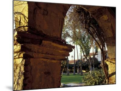 Courtyard of Mission San Juan Capistrano, California, USA-John & Lisa Merrill-Mounted Photographic Print