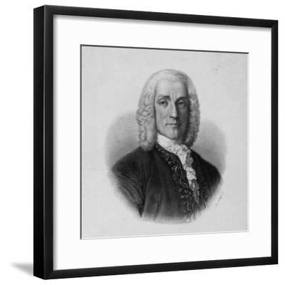 Portrait of Domenico Scarlatti, Italian Composer--Framed Photographic Print