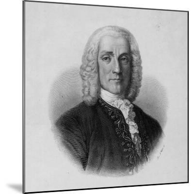 Portrait of Domenico Scarlatti, Italian Composer--Mounted Photographic Print