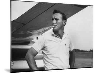Golfer Arnold Palmer-John Dominis-Mounted Premium Photographic Print