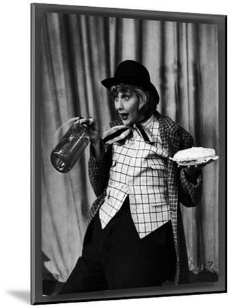 """Comedienne Lucille Ball Clowns During TV Episode of """"I Love Lucy""""-Loomis Dean-Mounted Premium Photographic Print"""
