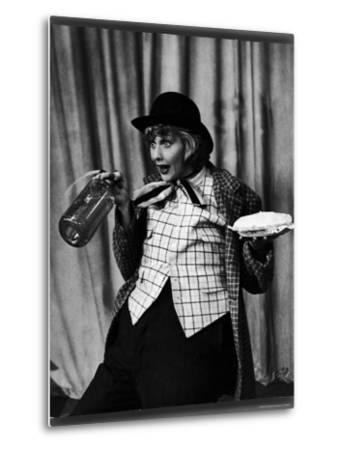 """Comedienne Lucille Ball Clowns During TV Episode of """"I Love Lucy""""-Loomis Dean-Metal Print"""