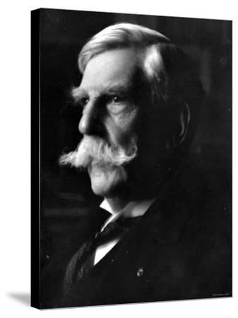 Portrait of Oliver Wendell Holmes, American Jurist and Associate Justice of the U.S. Supreme Court--Stretched Canvas Print