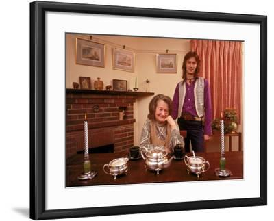 Eric Clapton with His Grandmother Rose Clapp-John Olson-Framed Premium Photographic Print