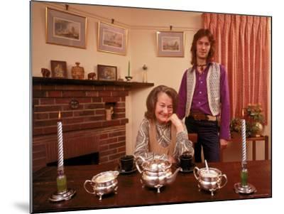 Eric Clapton with His Grandmother Rose Clapp-John Olson-Mounted Premium Photographic Print