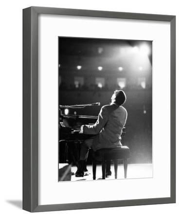 Ray Charles-Bill Ray-Framed Premium Photographic Print