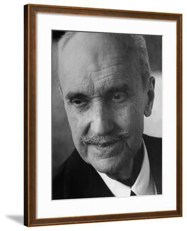 Philosopher George Santayana-George Silk-Framed Premium Photographic Print