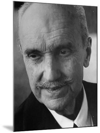 Philosopher George Santayana-George Silk-Mounted Premium Photographic Print
