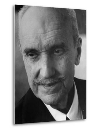 Philosopher George Santayana-George Silk-Metal Print