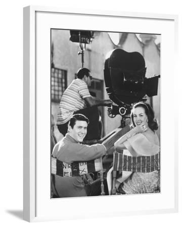 Maria Felix with Son Enrique Alviarez-Bill Ray-Framed Premium Photographic Print