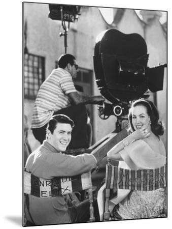 Maria Felix with Son Enrique Alviarez-Bill Ray-Mounted Premium Photographic Print