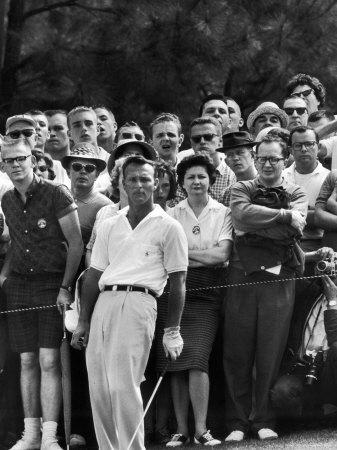 Arnold Palmer After Winning the Masters Tournament-George Silk-Premium Photographic Print