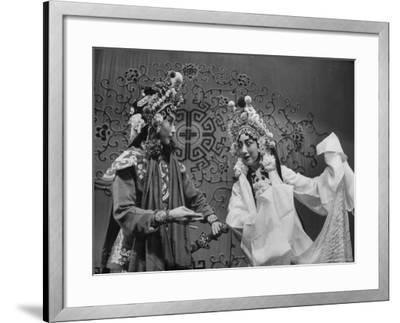 Peking Opera-Frank Scherschel-Framed Premium Photographic Print