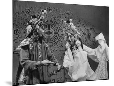 Peking Opera-Frank Scherschel-Mounted Premium Photographic Print
