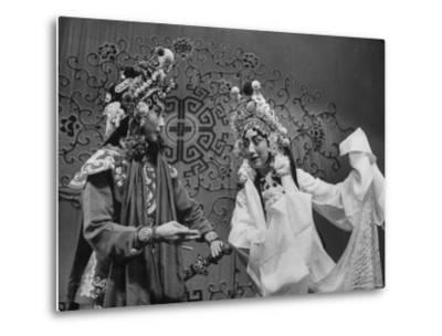 Peking Opera-Frank Scherschel-Metal Print