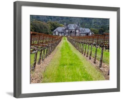 Ledson Winery, Sonoma Valley, California, USA-Julie Eggers-Framed Photographic Print