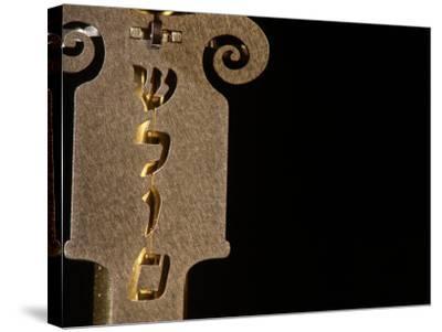 Jewish Symbols-Keith Levit-Stretched Canvas Print