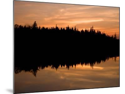 Sunset over Bass Harbor Marsh, Acadia National Park, Maine, USA-Jerry & Marcy Monkman-Mounted Photographic Print