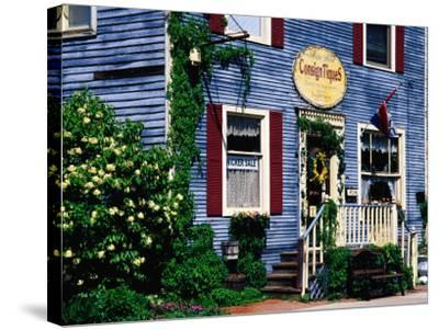 Antique Store in Downtown, St. Charles, United States of America-Richard Cummins-Stretched Canvas Print