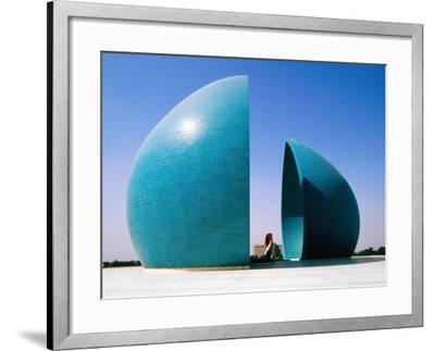 Martyr's Monument to Iraq/Iran War, Baghdad, Iraq-Jane Sweeney-Framed Photographic Print