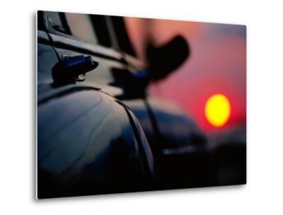 Chevrolet Bel-Air at Sunset, Cienfuegos, Cuba-Christopher P Baker-Metal Print