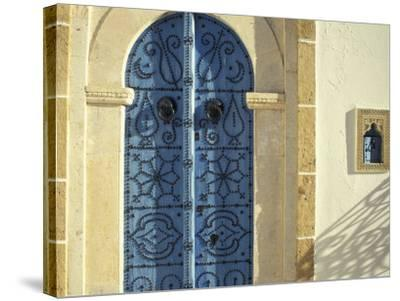 Traditional Door Decorations, Tunisia-Michele Molinari-Stretched Canvas Print