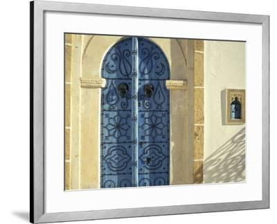 Traditional Door Decorations, Tunisia-Michele Molinari-Framed Photographic Print