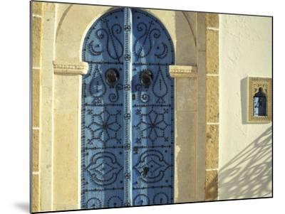 Traditional Door Decorations, Tunisia-Michele Molinari-Mounted Photographic Print