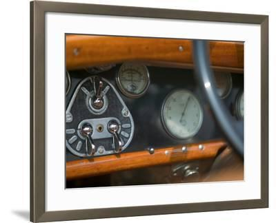 Antique Jaguar, Germany-Russell Young-Framed Photographic Print