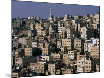 The City of Amman from the Citadel,Amman, Jordan-John Elk III-Mounted Photographic Print