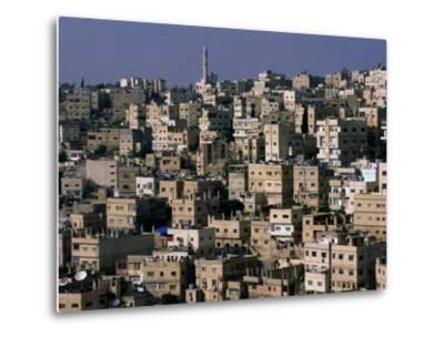 The City of Amman from the Citadel,Amman, Jordan-John Elk III-Metal Print