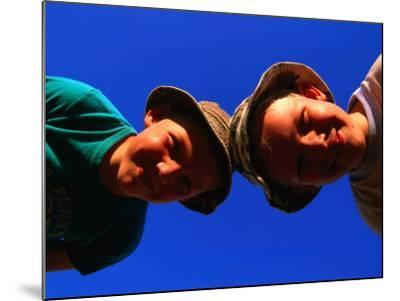 Two Young Boys from Skane, Skane, Sweden-Anders Blomqvist-Mounted Premium Photographic Print