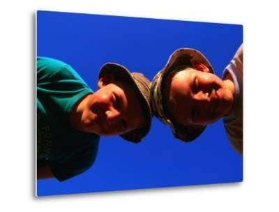 Two Young Boys from Skane, Skane, Sweden-Anders Blomqvist-Metal Print
