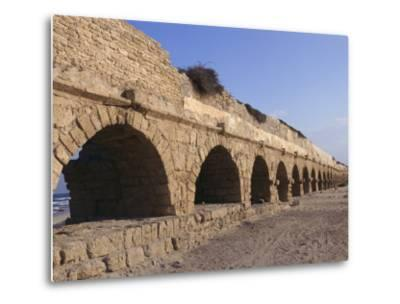 A Relatively Intact Roman Aqueduct Near the Mediterranean Sea-Nick Caloyianis-Metal Print