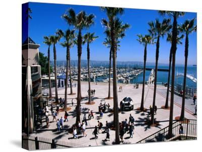 Marina Gate at Pacific Bell Park, San Francisco, California, USA-Roberto Gerometta-Stretched Canvas Print
