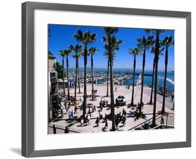 Marina Gate at Pacific Bell Park, San Francisco, California, USA-Roberto Gerometta-Framed Photographic Print