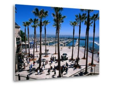 Marina Gate at Pacific Bell Park, San Francisco, California, USA-Roberto Gerometta-Metal Print