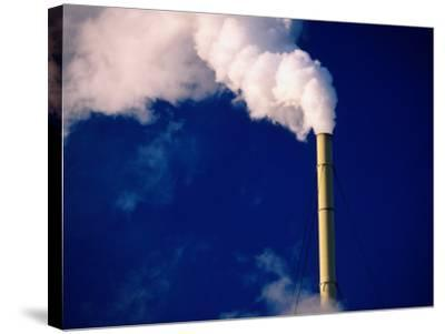 Smokestack, Melbourne, Australia-Peter Hendrie-Stretched Canvas Print