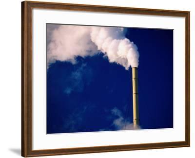 Smokestack, Melbourne, Australia-Peter Hendrie-Framed Photographic Print
