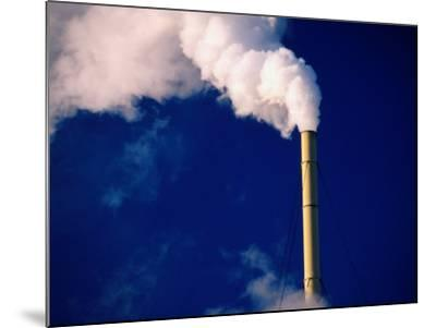 Smokestack, Melbourne, Australia-Peter Hendrie-Mounted Photographic Print