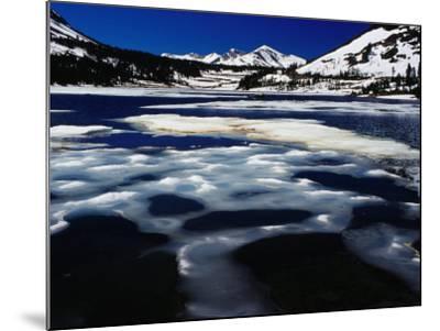 Tioga Lake in Winter, Yosemite National Park, California, USA-Richard I'Anson-Mounted Photographic Print